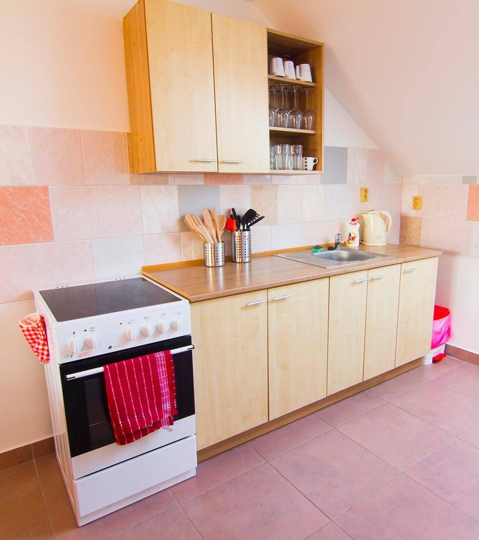 Kuchyň - Velké Pavlovice ubytování