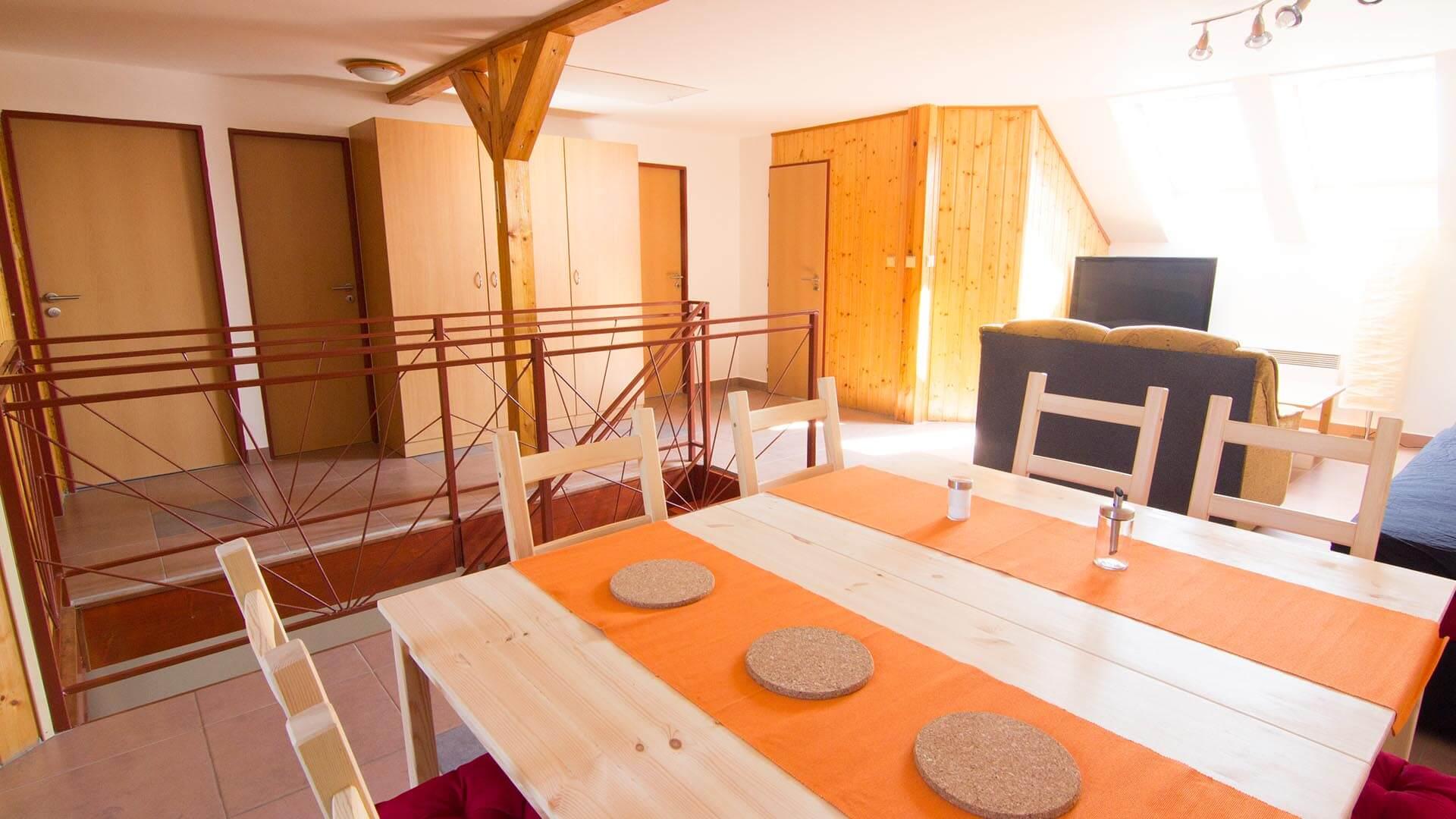 Společné prostory - penzion Velké Pavlovice