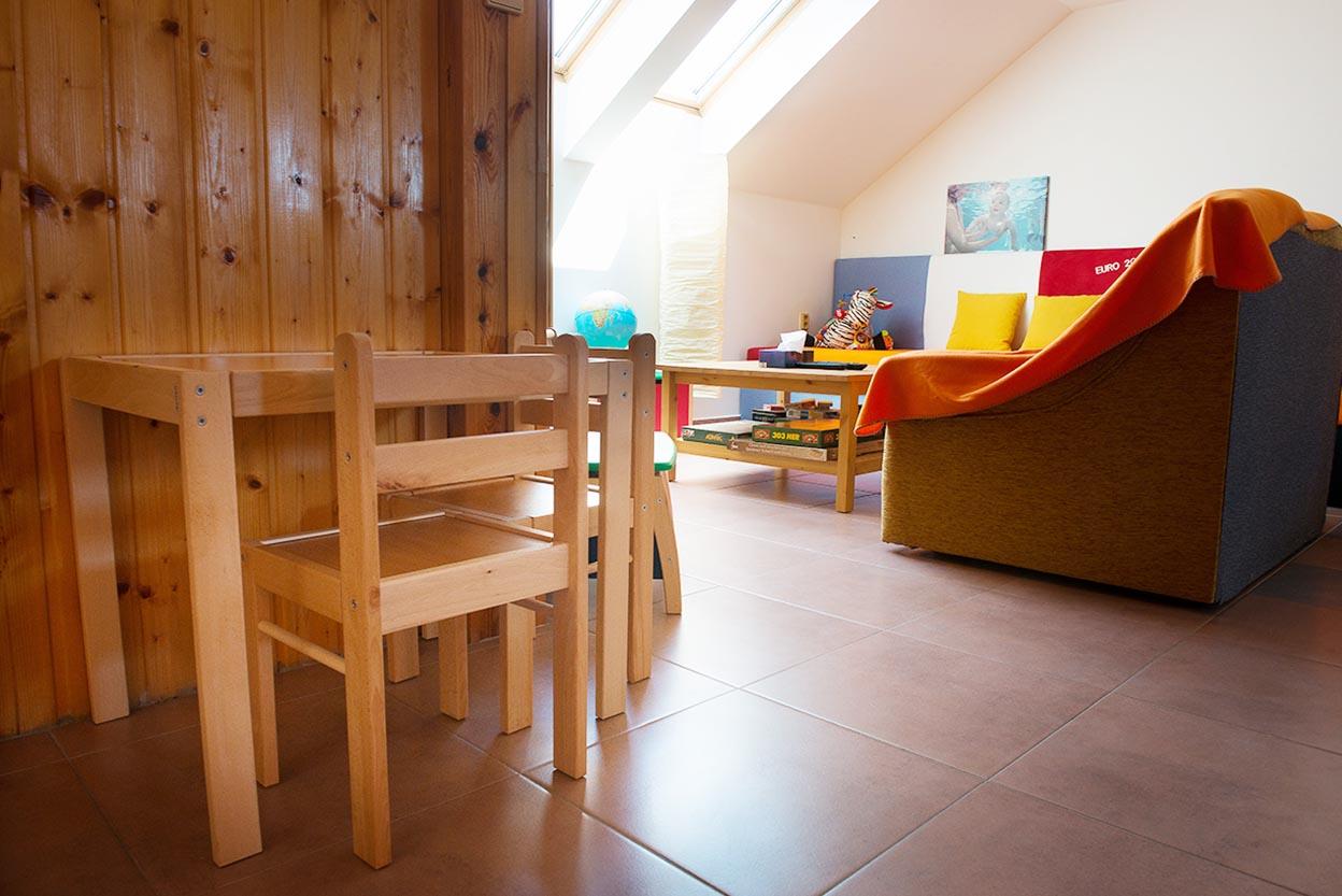 Dětský koutek: ubytování Velké Pavlovice